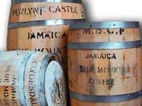 Деревянный бочонок — знак качества кофе Blue Mountain