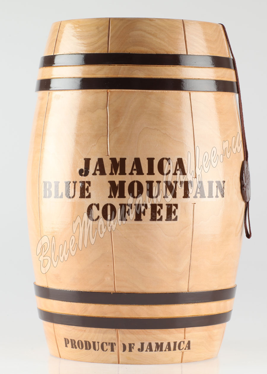 Кофе Jamaica Blue Mountain (Ямайка Блю Маунтин) бочонок 1 кг
