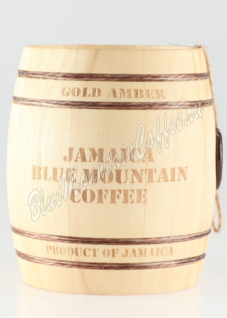 Кофе Jamaica Blue Mountain (Ямайка Блю Маунтин) бочонок 150 гр