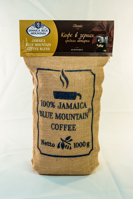 Кофе Jamaica Blue Mountain Blend в зернах 1 кг
