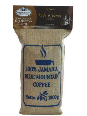 Кофе Jamaica Blue Mountain (Ямайка Блю Маунтин) средней обжарки